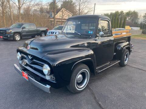 1955 Ford F-100 for sale at Glen's Auto Sales in Fremont NH