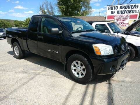 2006 Nissan Titan for sale at Auto Brokers of Milford in Milford NH