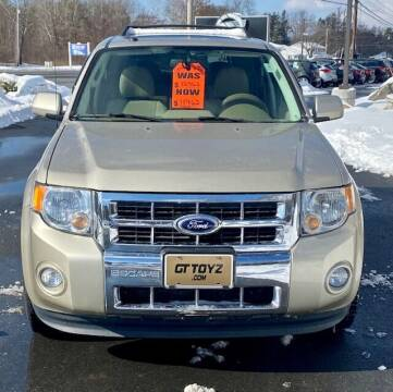 2012 Ford Escape for sale at GT Toyz Motor Sports & Marine in Halfmoon NY