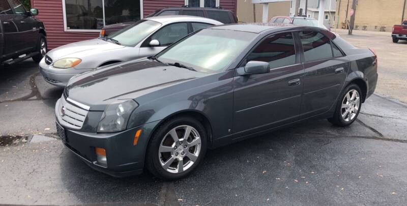 2007 Cadillac CTS for sale at N & J Auto Sales in Warsaw IN