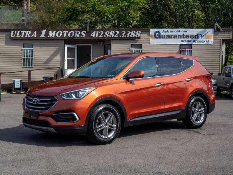 2017 Hyundai Santa Fe Sport for sale at Ultra 1 Motors in Pittsburgh PA