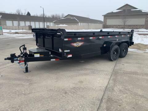 2021 H&H DBW-16 #8710 for sale at Prairie Wind Trailers, LLC in Harrisburg SD