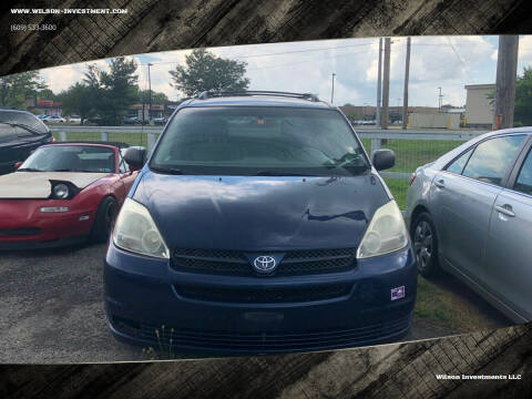 2005 Toyota Sienna for sale at Wilson Investments LLC in Ewing NJ