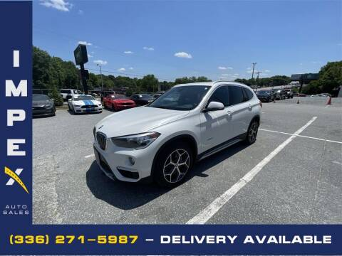 2018 BMW X1 for sale at Impex Auto Sales in Greensboro NC