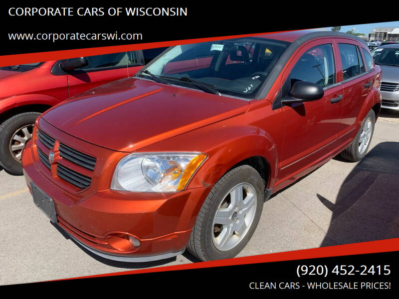 2008 Dodge Caliber for sale at CORPORATE CARS OF WISCONSIN - DAVES AUTO SALES OF SHEBOYGAN in Sheboygan WI