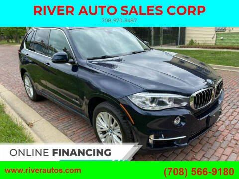 2016 BMW X5 for sale at RIVER AUTO SALES CORP in Maywood IL