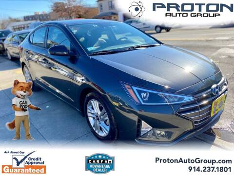 2020 Hyundai Elantra for sale at Proton Auto Group in Yonkers NY