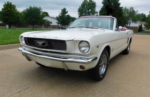 1966 Ford Mustang for sale at WEST PORT AUTO CENTER INC in Fenton MO