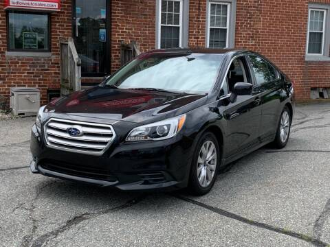 2016 Subaru Legacy for sale at Ludlow Auto Sales in Ludlow MA