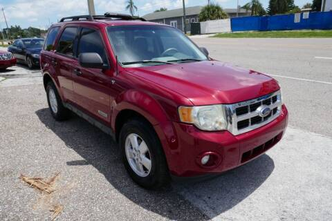 2008 Ford Escape for sale at J Linn Motors in Clearwater FL