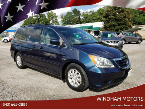 2010 Honda Odyssey for sale at Windham Motors in Florence SC