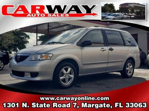 2003 Mazda MPV for sale at CARWAY Auto Sales in Margate FL