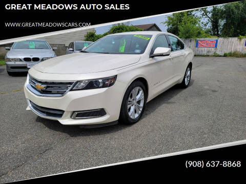 2014 Chevrolet Impala for sale at GREAT MEADOWS AUTO SALES in Great Meadows NJ
