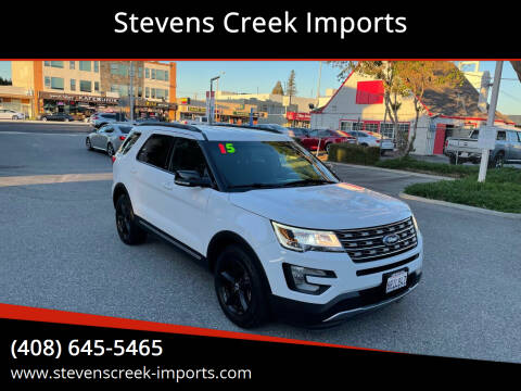 2016 Ford Explorer for sale at Stevens Creek Imports in San Jose CA