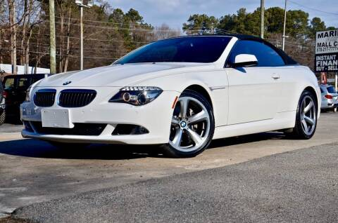 2010 BMW 6 Series for sale at Marietta Auto Mall Center in Marietta GA