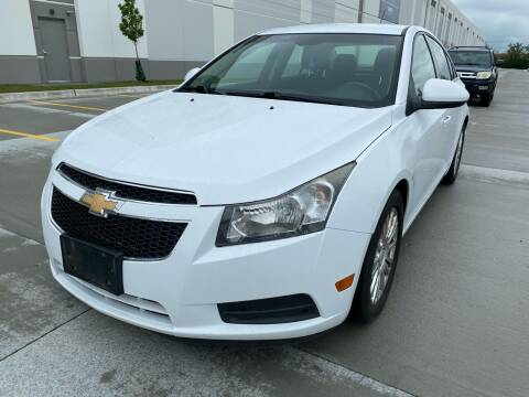 2012 Chevrolet Cruze for sale at Quality Auto Sales And Service Inc in Westchester IL
