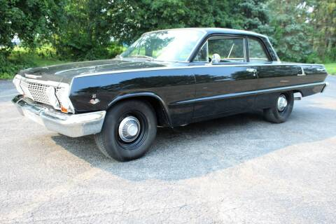 1963 Chevrolet Biscayne for sale at Great Lakes Classic Cars & Detail Shop in Hilton NY