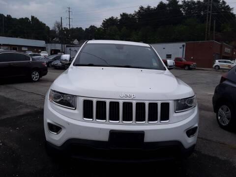 2015 Jeep Grand Cherokee for sale at Auto Villa in Danville VA