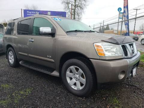 2006 Nissan Armada for sale at Universal Auto Sales in Salem OR