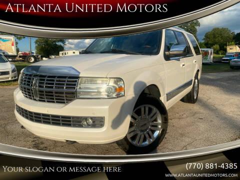 2011 Lincoln Navigator for sale at Atlanta United Motors in Jefferson GA