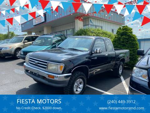 1995 Toyota T100 for sale at FIESTA MOTORS in Hagerstown MD