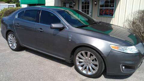 2011 Lincoln MKS for sale at Haigler Motors Inc in Tyler TX