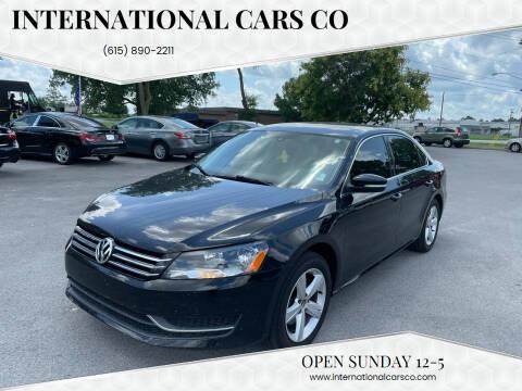2013 Volkswagen Passat for sale at International Cars Co in Murfreesboro TN