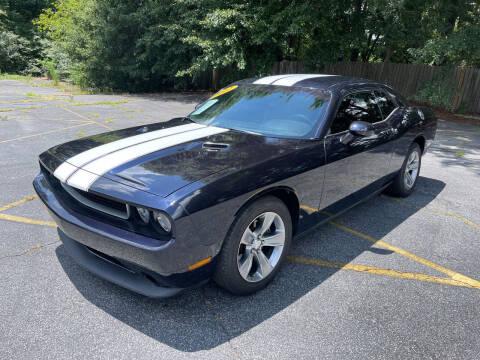 2012 Dodge Challenger for sale at Peach Auto Sales in Smyrna GA