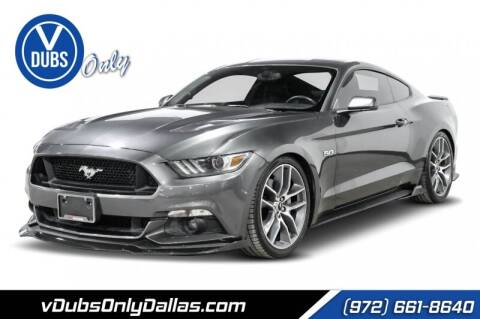 2015 Ford Mustang for sale at VDUBS ONLY in Dallas TX