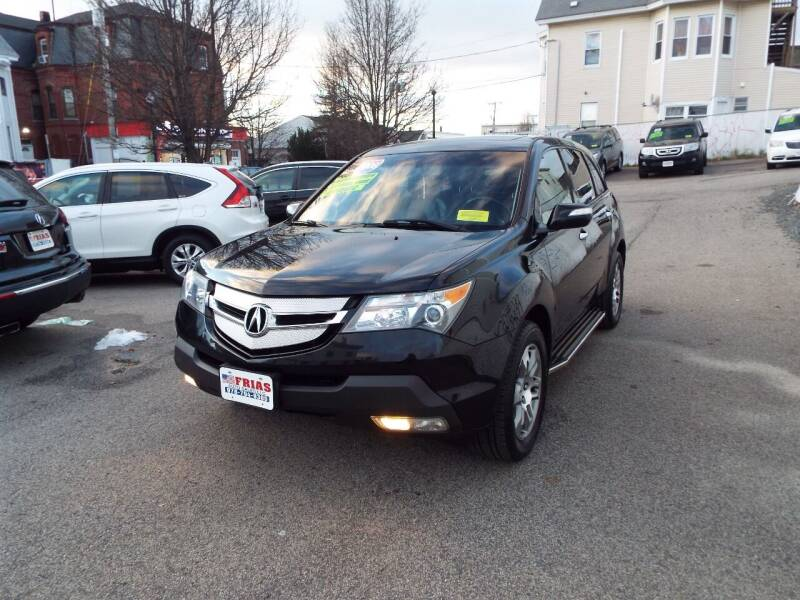 2008 Acura MDX for sale at FRIAS AUTO SALES LLC in Lawrence MA