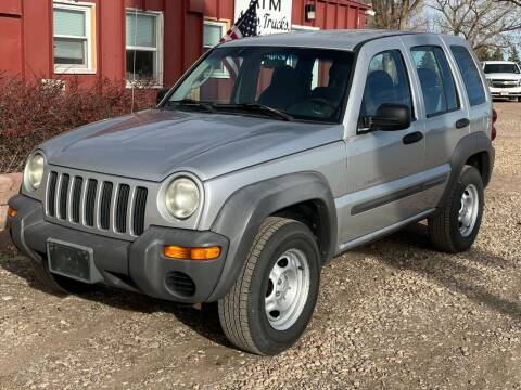 2002 Jeep Liberty for sale at Autos Trucks & More in Chadron NE