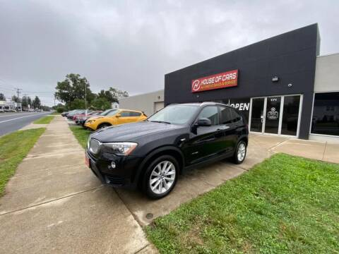 2017 BMW X3 for sale at HOUSE OF CARS CT in Meriden CT