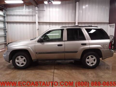 2003 Chevrolet TrailBlazer for sale at East Coast Auto Source Inc. in Bedford VA
