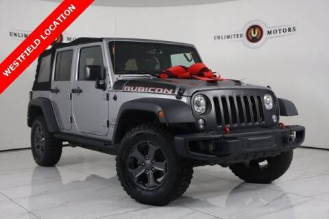 2018 Jeep Wrangler JK Unlimited for sale at INDY'S UNLIMITED MOTORS - UNLIMITED MOTORS in Westfield IN