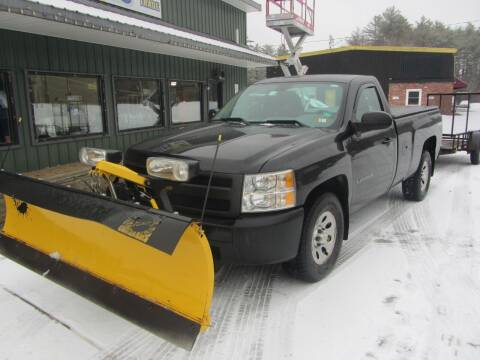 2012 Chevrolet Silverado 1500 for sale at Jons Route 114 Auto Sales in New Boston NH