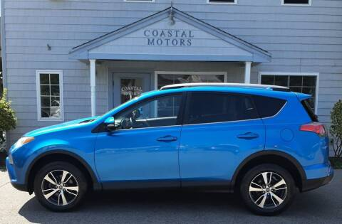 2017 Toyota RAV4 for sale at Coastal Motors in Buzzards Bay MA