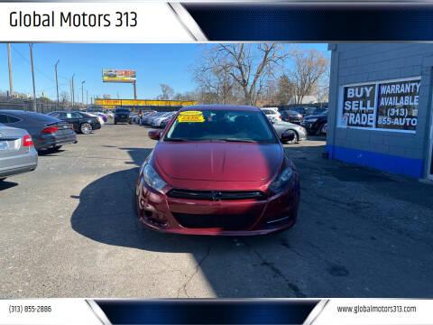 2015 Dodge Dart for sale at Global Motors 313 in Detroit MI