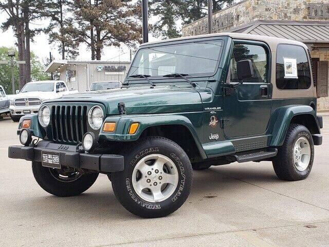 2000 Jeep Wrangler for sale at Tyler Car  & Truck Center in Tyler TX