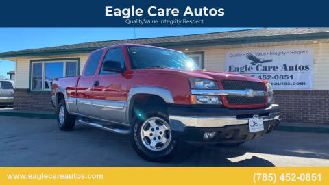 2004 Chevrolet Silverado 1500 for sale at Eagle Care Autos in Mcpherson KS