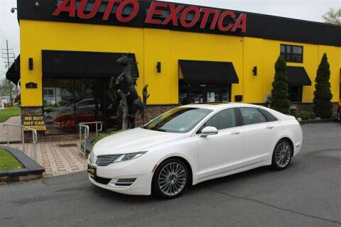 2013 Lincoln MKZ for sale at Auto Exotica in Red Bank NJ