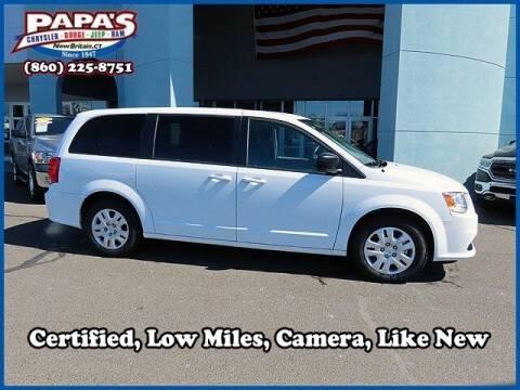 2018 Dodge Grand Caravan for sale at Papas Chrysler Dodge Jeep Ram in New Britain CT