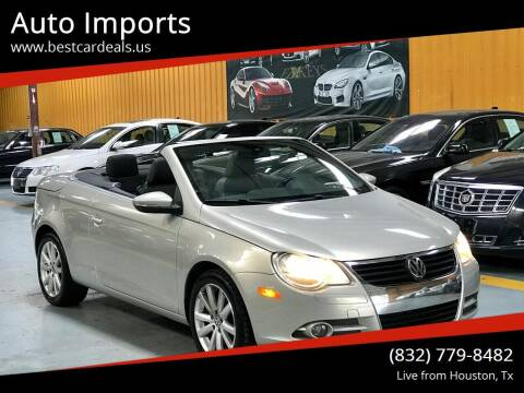 2010 Volkswagen Eos for sale at Auto Imports in Houston TX