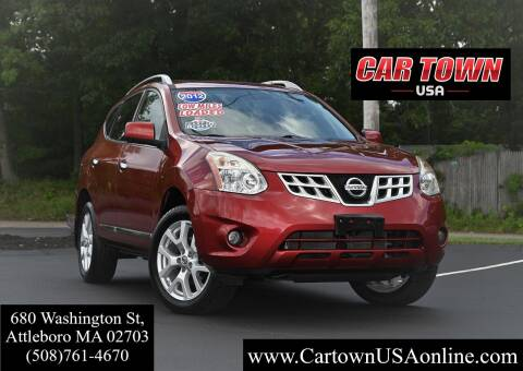 2012 Nissan Rogue for sale at Car Town USA in Attleboro MA