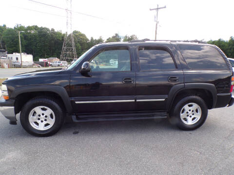 2005 Chevrolet Tahoe for sale at Cambria Cars in Mooresville NC