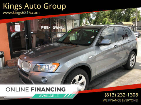 2011 BMW X3 for sale at Kings Auto Group in Tampa FL