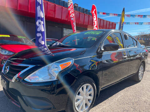 2019 Nissan Versa for sale at Duke City Auto LLC in Gallup NM