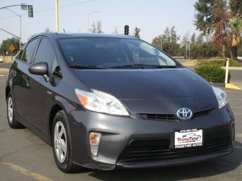 2012 Toyota Prius for sale at PRIMETIME AUTOS in Sacramento CA