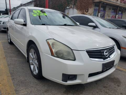 2008 Nissan Maxima for sale at USA Auto Brokers in Houston TX
