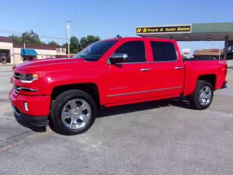 2016 Chevrolet Silverado 1500 for sale at R & S TRUCK & AUTO SALES in Vinita OK