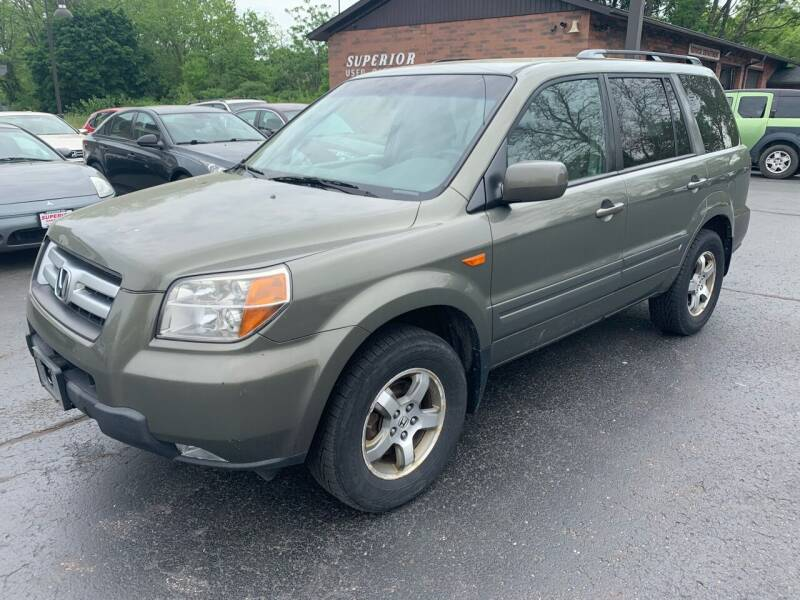 2008 Honda Pilot for sale at Superior Used Cars Inc in Cuyahoga Falls OH